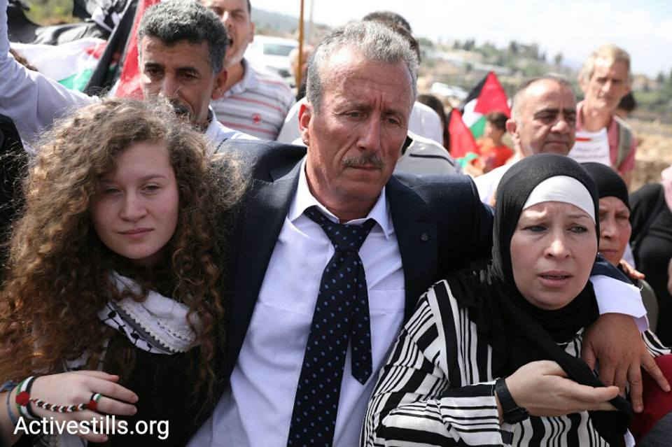 Ahed Tamimi is finally free after eight months in an Israeli