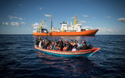 Aquarius migrant rescue ship