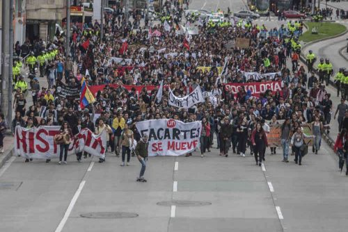 Colombia Students Protests