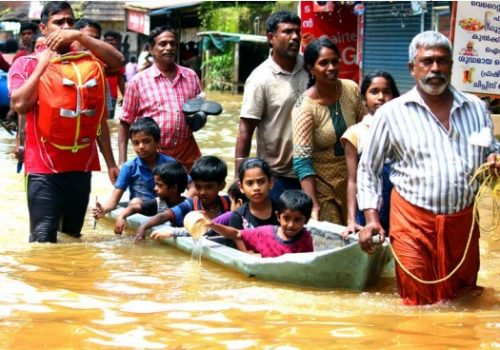 Kerala floods rescue operations