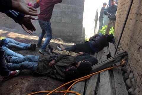 Kashmir explosion