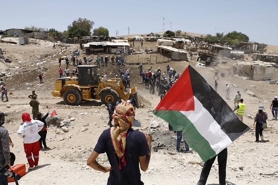 Palestinian Resistance against Israeli demolition