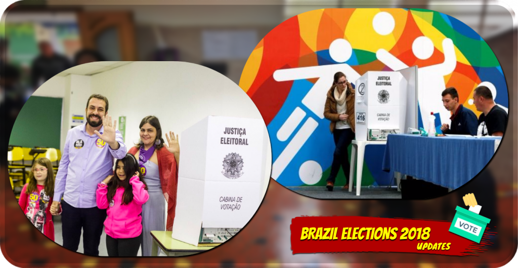 People voting Brazil elections