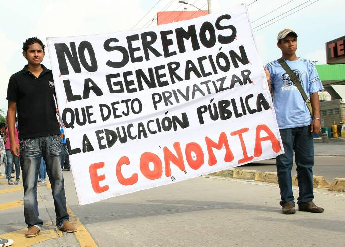 Colombia Students Protest