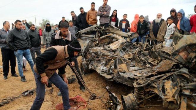 Israel raid in Gaza