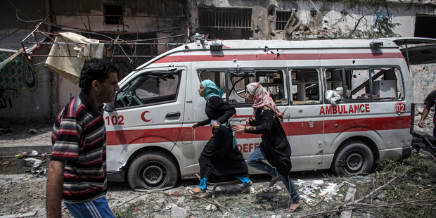 Military occupation and Palestine health crisis