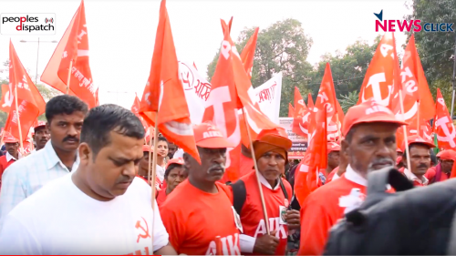 Farmers march India
