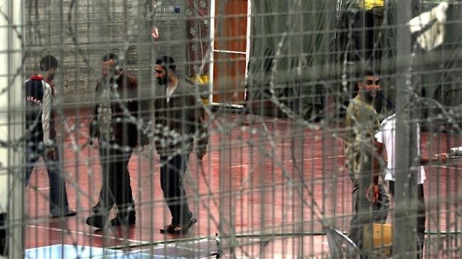 Palestinians in Israel prison