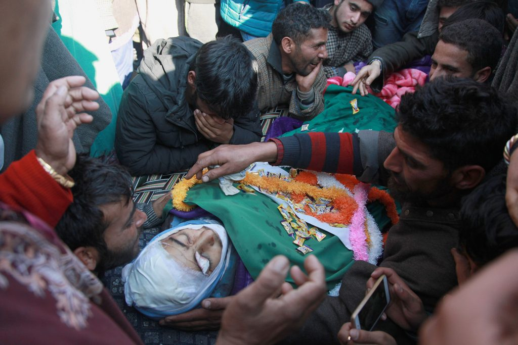 Funeral of 15 years old Murtaza