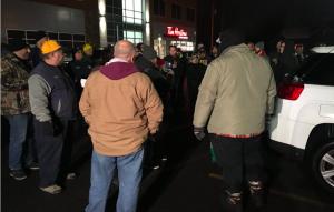 Tesla workers in Buffalo