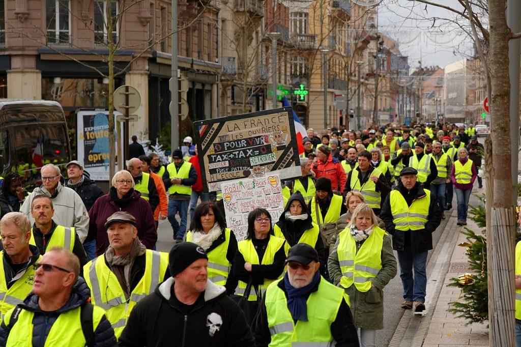 Yellow vest movement