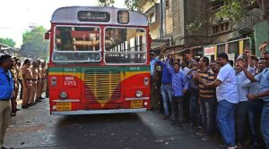 Mumbai transport workers' strike