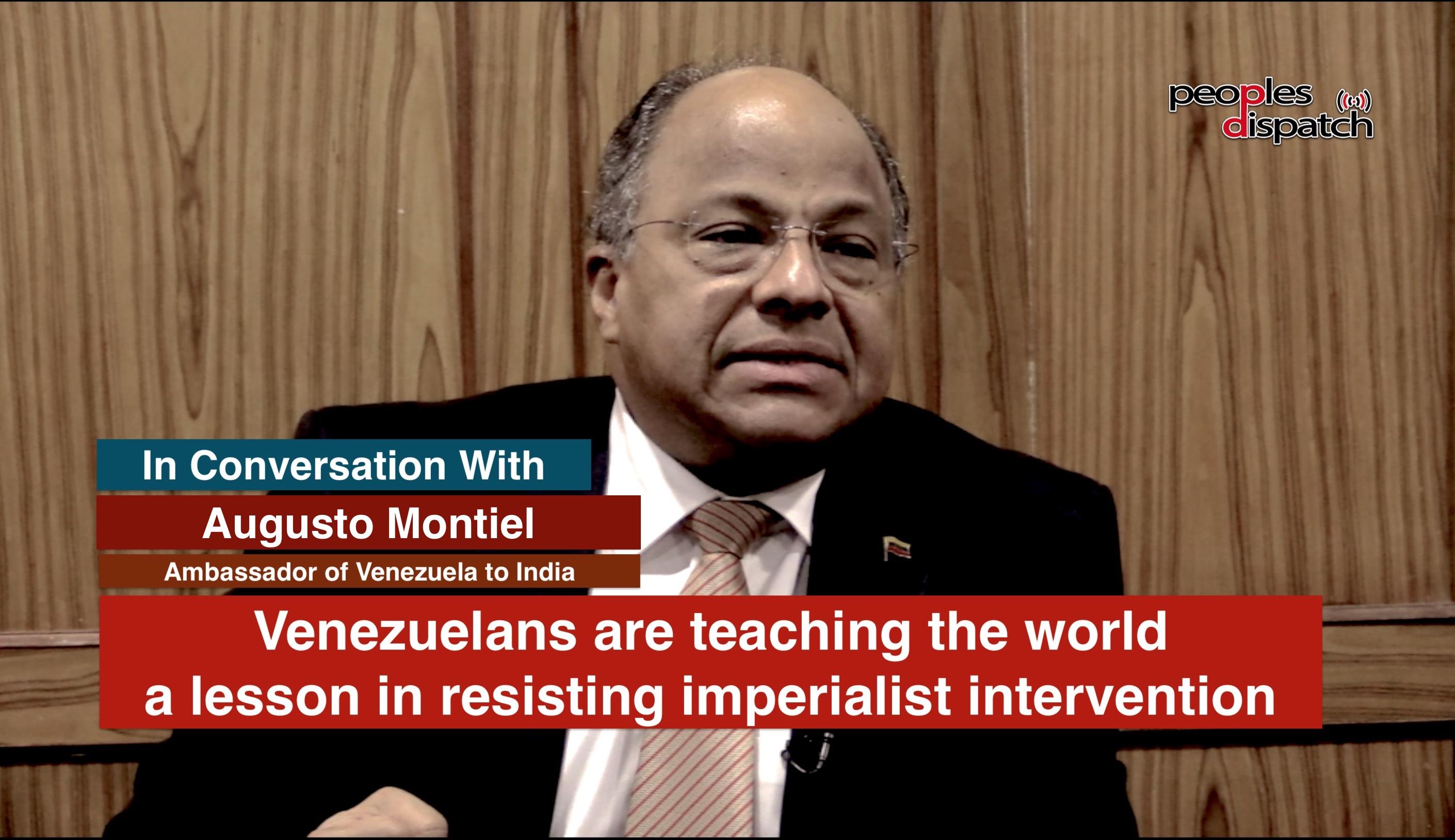 Augusto Montiel Venezuela Ambassador