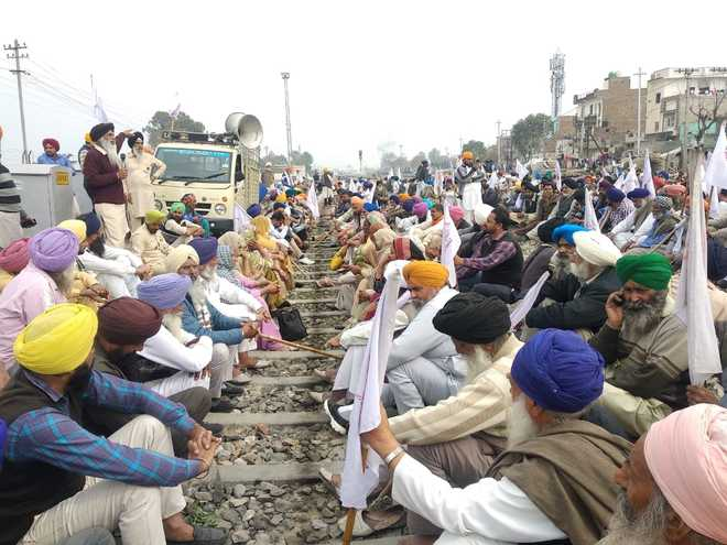 Farmers' protest in Punjab