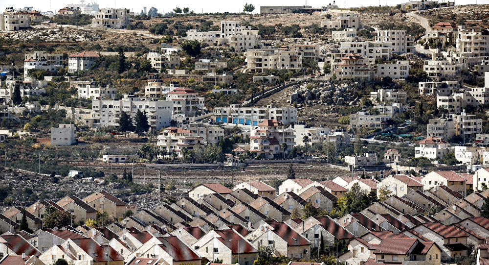 Israeli settlement in occupied Palestine