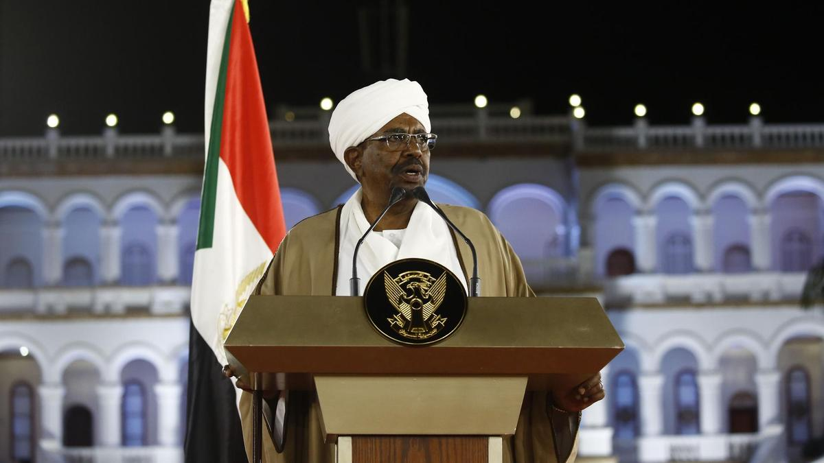 Omar Al-Bashir declaring emergency