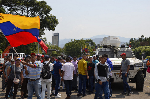 Chavistas Celebrate the People's Victory after 15 hours of ...