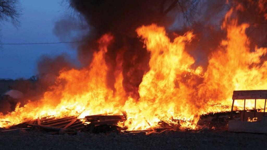 Oil pipeline blast in Nigeria
