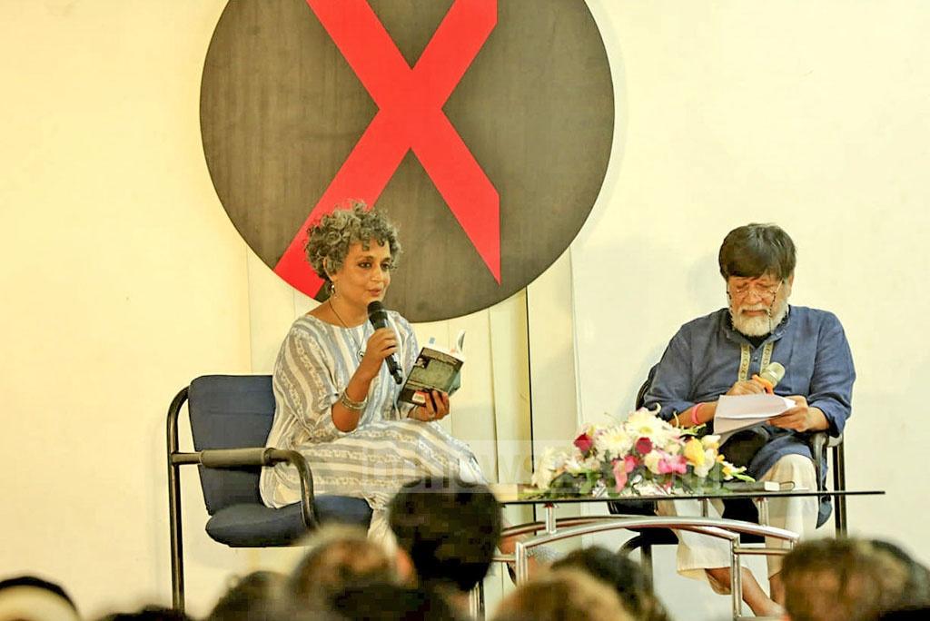 Arundhati Roy Shahidul Alam Chobi Mela