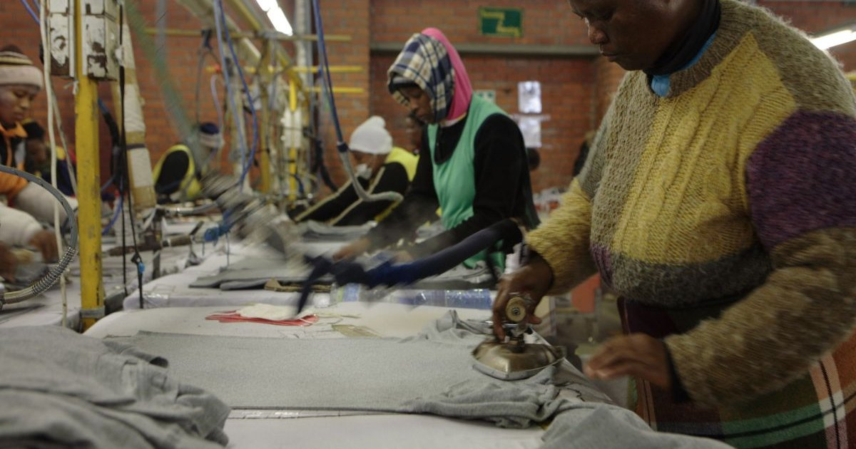 Lesotho garment workers