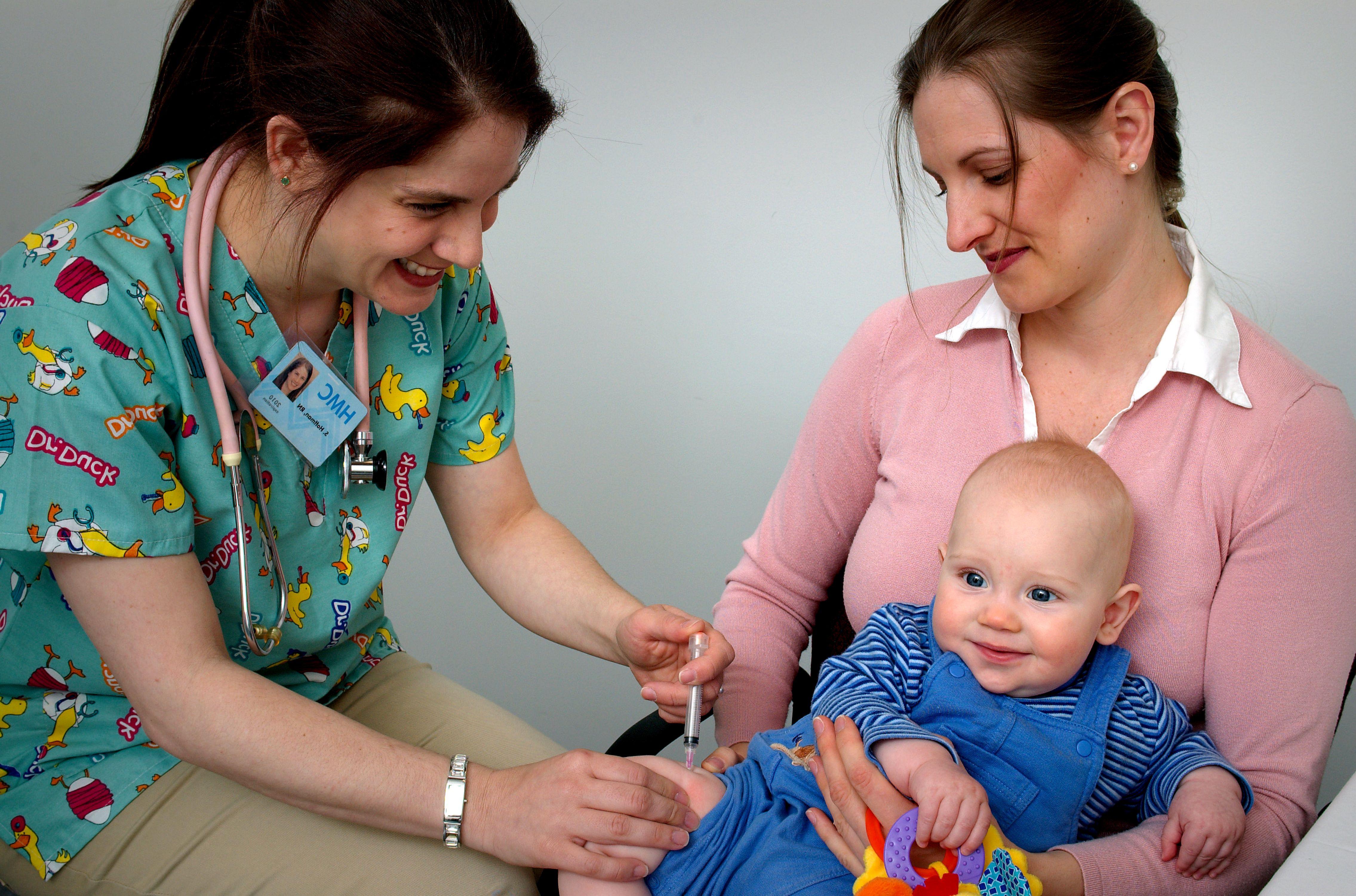Measles outbreak vaccines