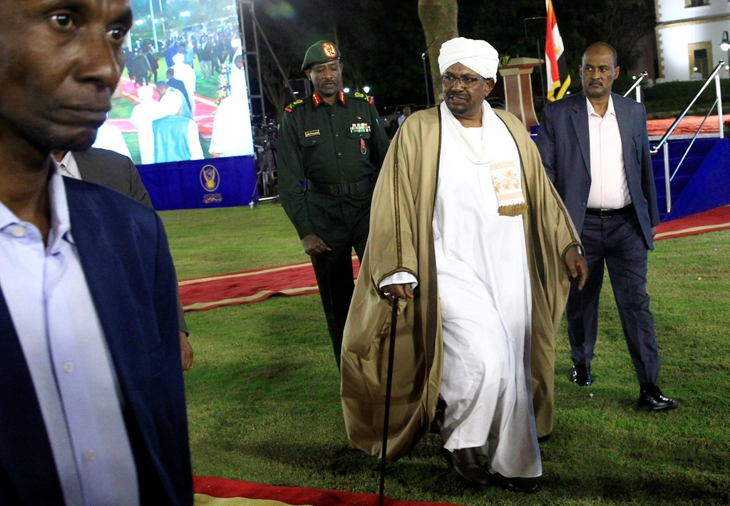 Sudan's Omar al-Bashir forced to step down as party chief as