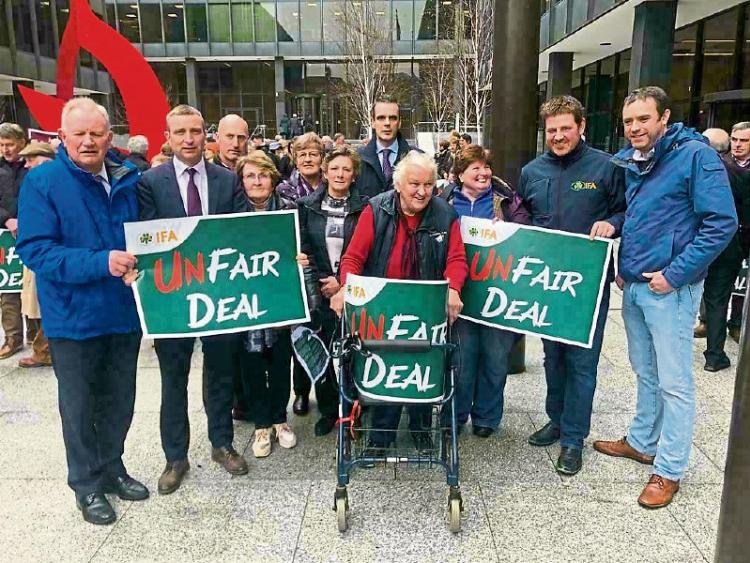 Farmers' protest in Ireland