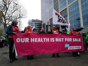 Right to health march