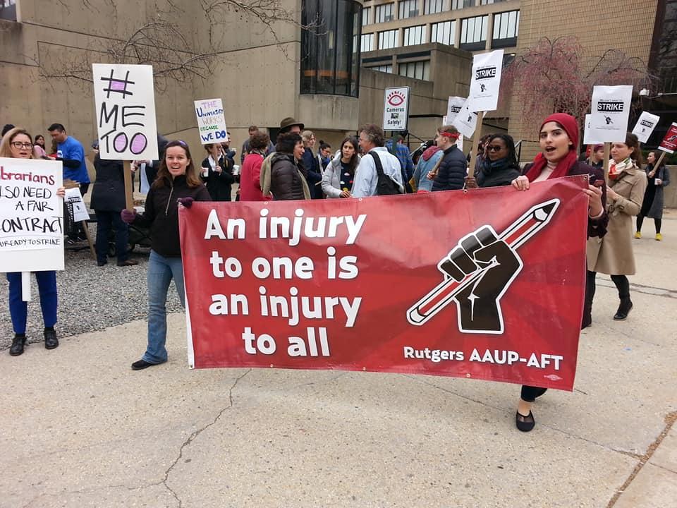Rutgers Strike