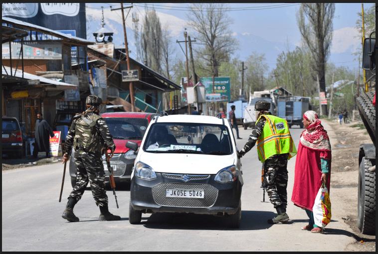 Kashmir military