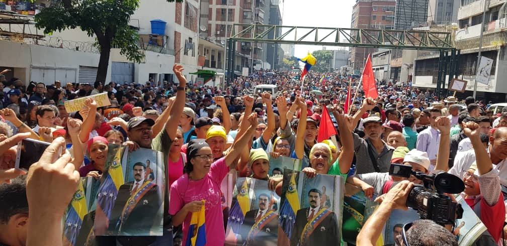 Venezuelans unite against latest coup attempt by far-right