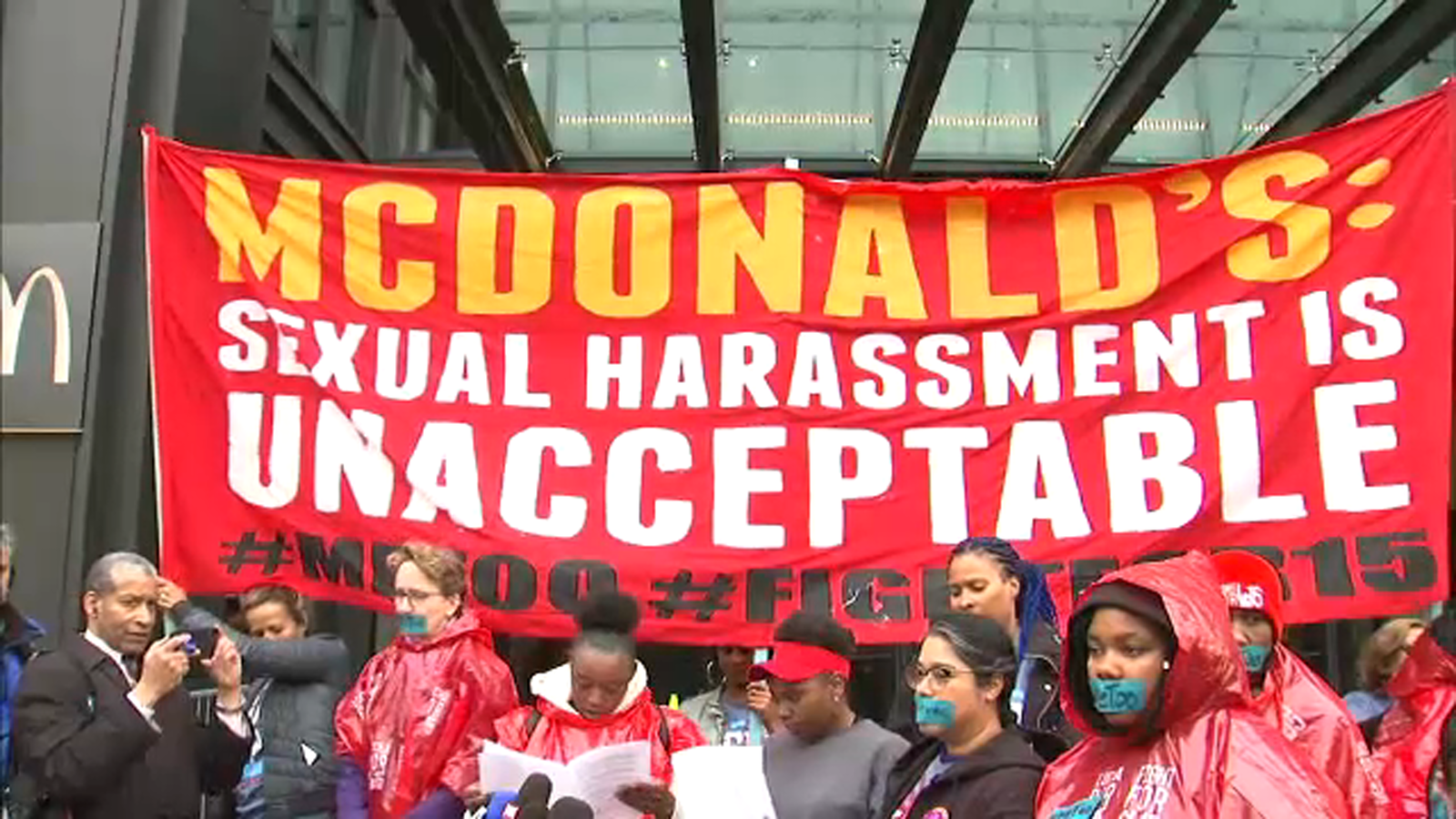 McDonald's sexual harrasment protests