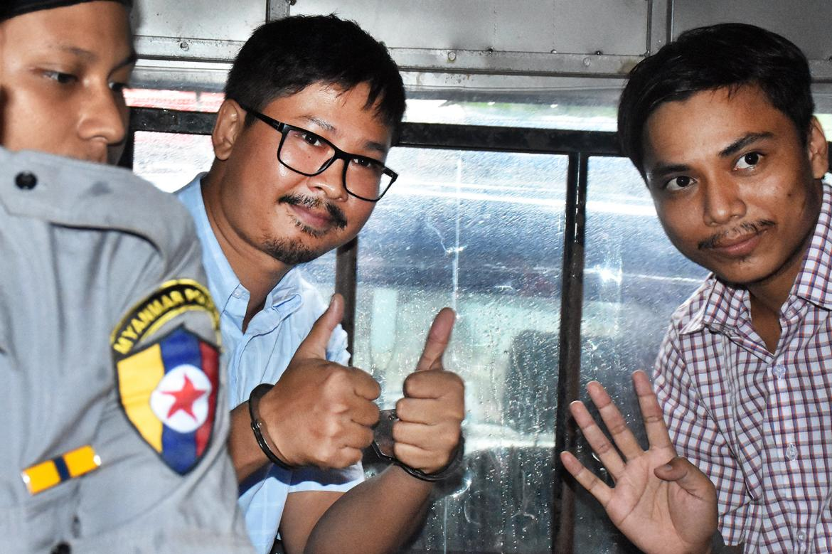 Myanmar journalists freed