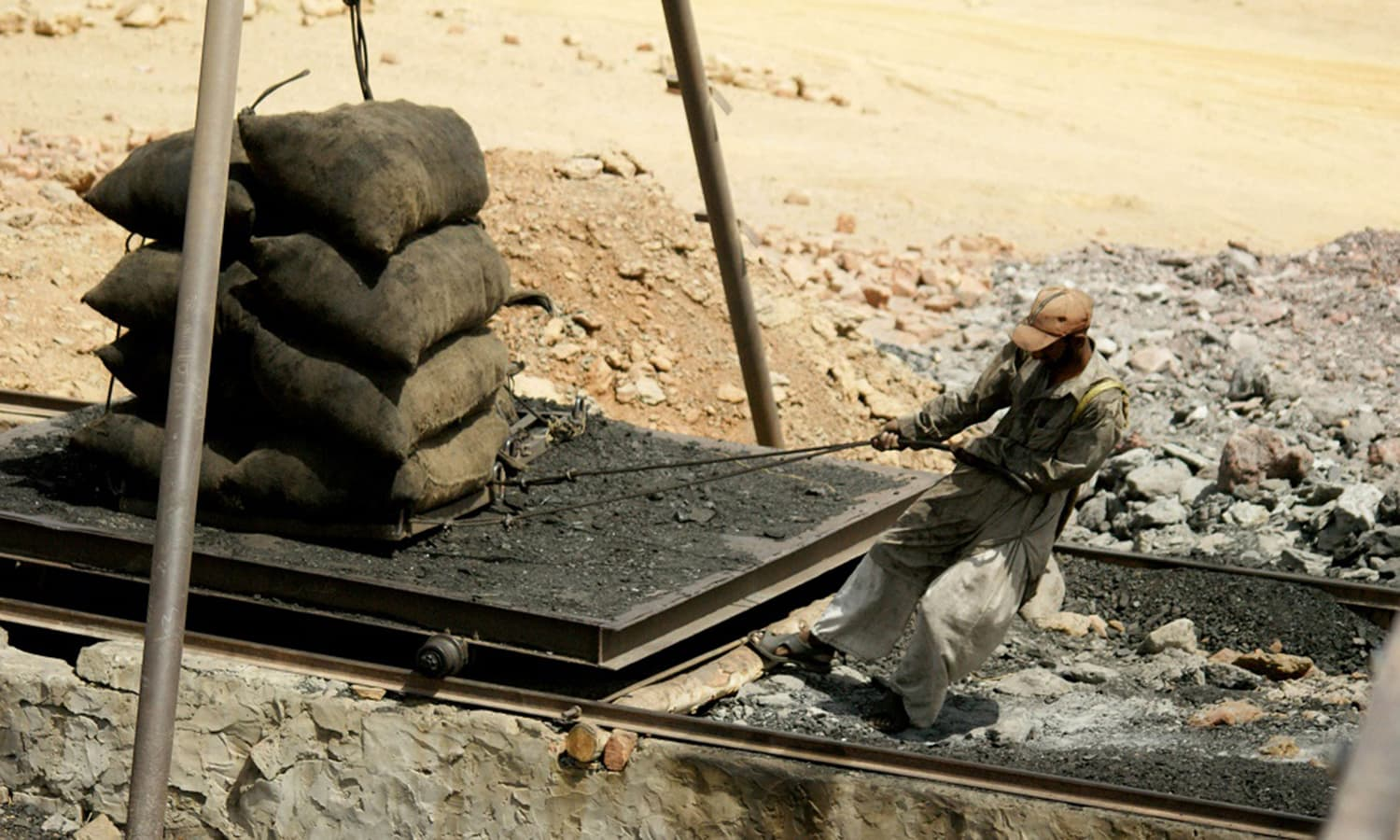 Pakistan coal miners
