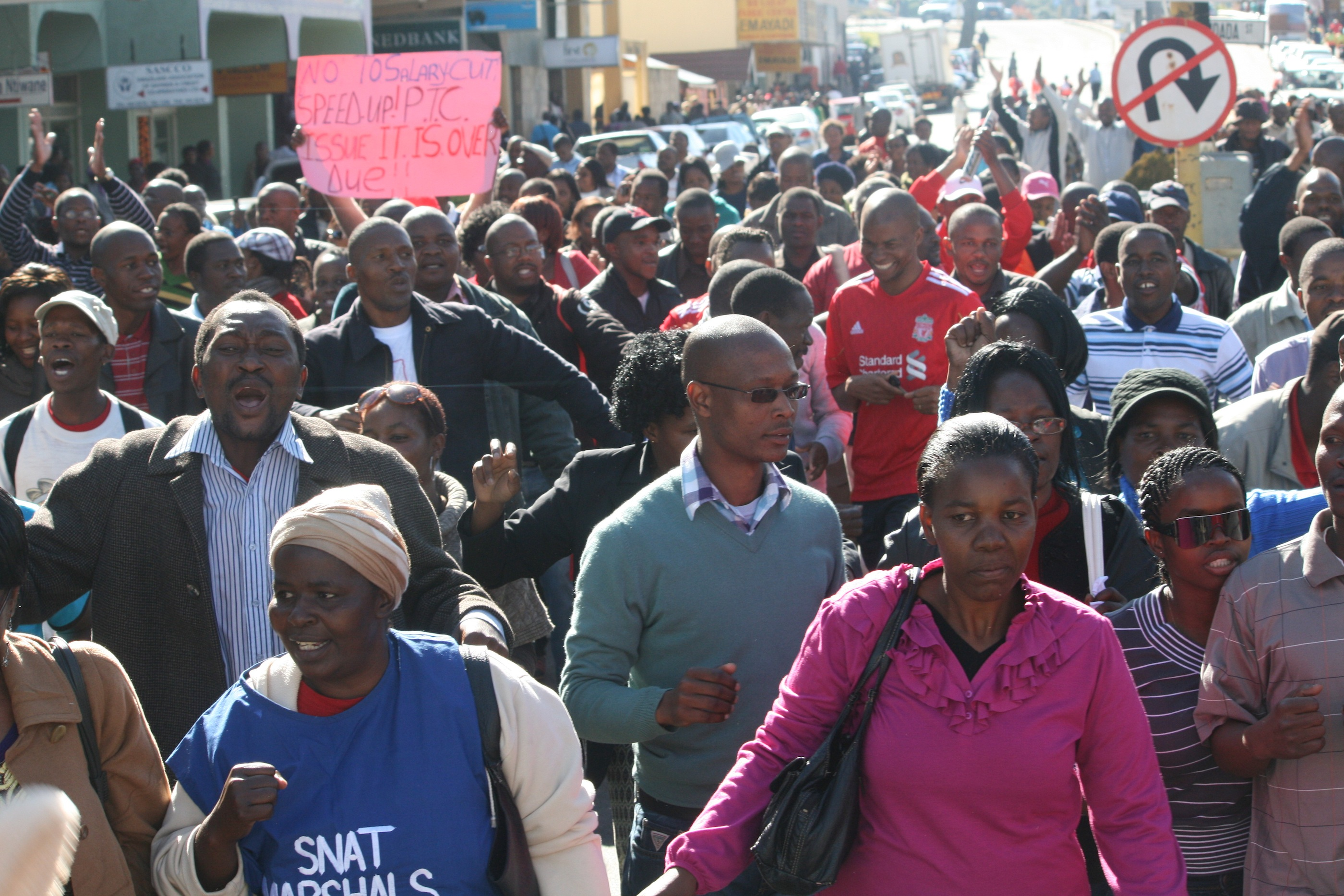 Swaziland teachers strike