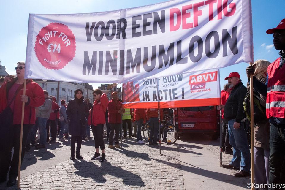 Belgium workers strike