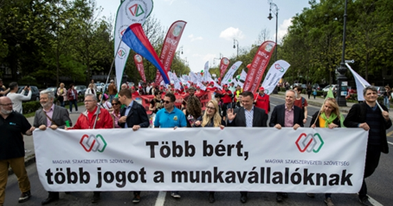 may day hungary