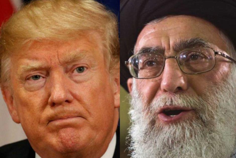IMG TRUMP - Ayatollah Khamenei