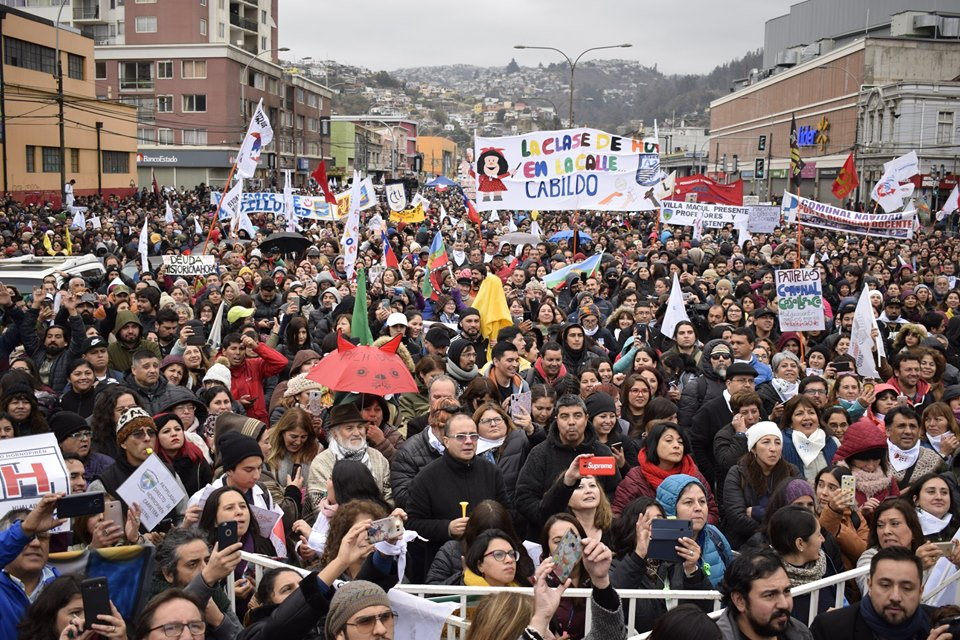 Chile teachers strike