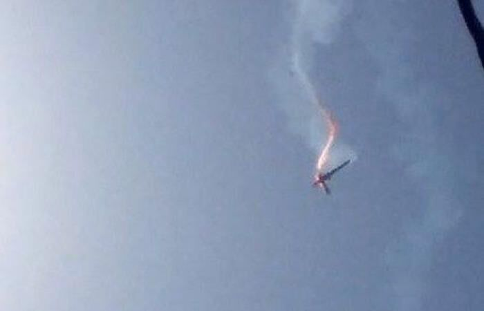 Iran shoots down drone