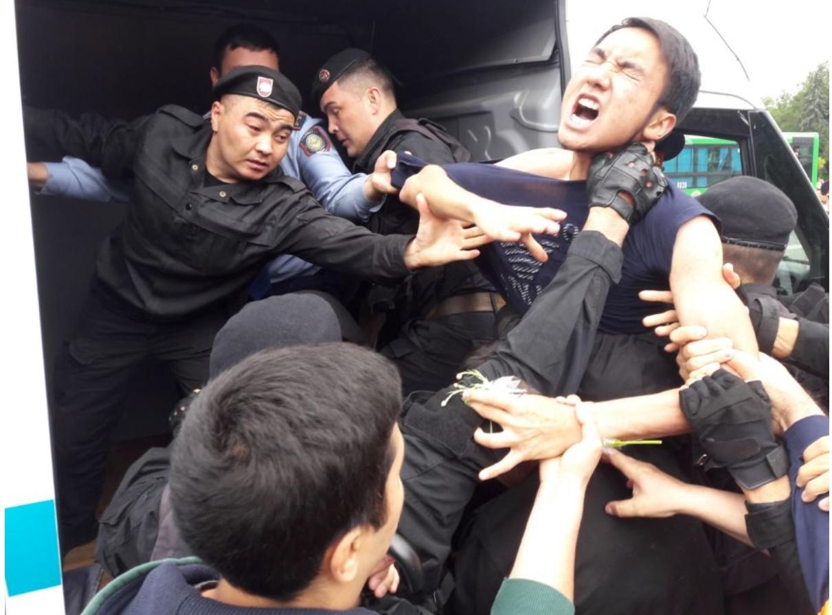 Kazakhstan protest
