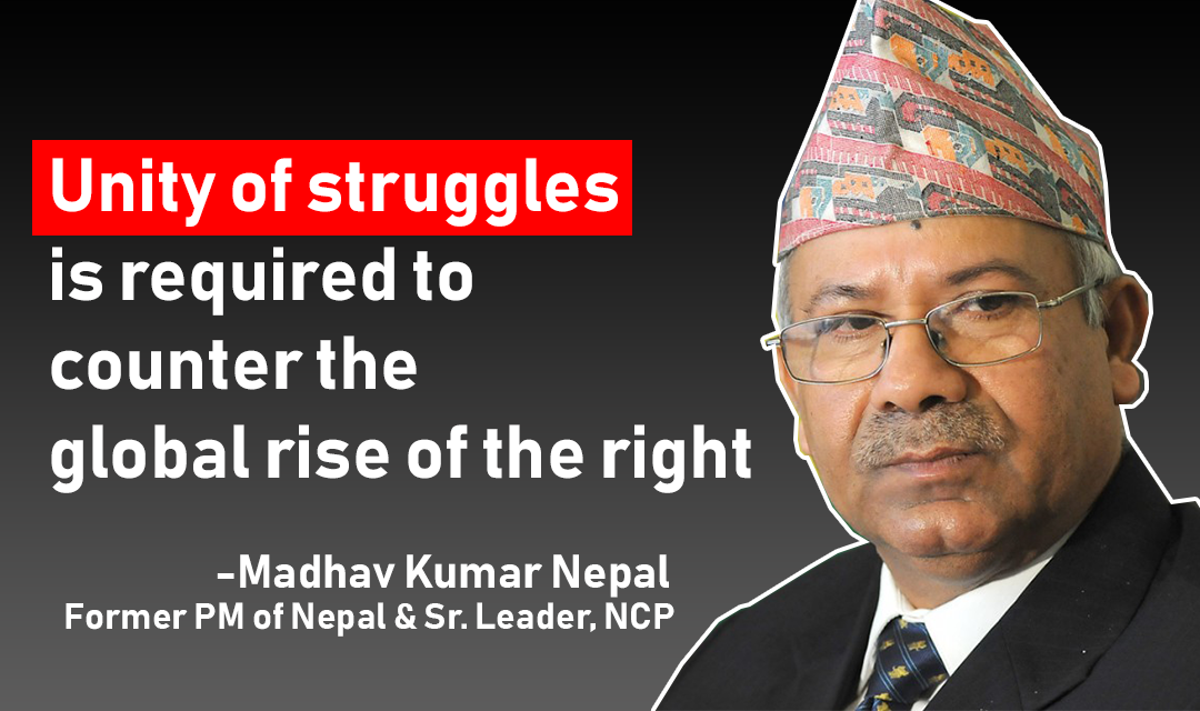 Madhav Kumar Nepal_Unity of Struggle_Nepal Communist Party