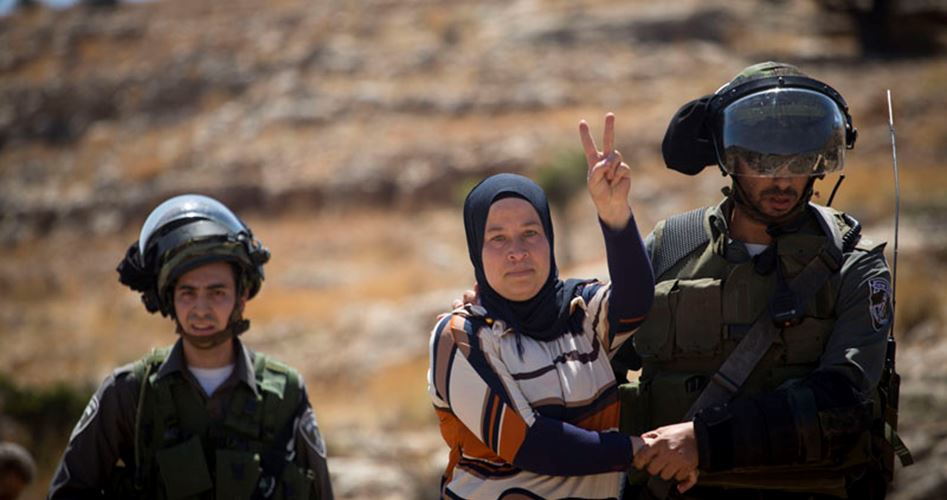 Palestinian women prisoners' strike