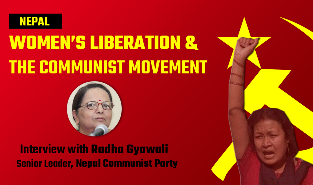 RADHA GYAWALI_NEPAL COMMUNIST PARTY