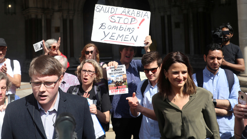 UK court ruling on arms deal with Saudi Arabia