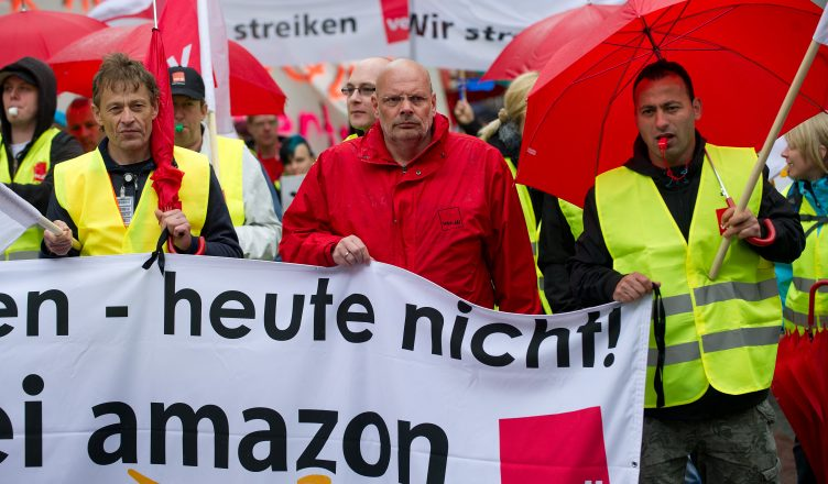 Amazon protests germany