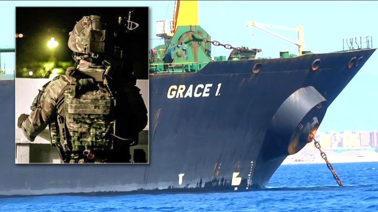Arrest of Iranian tanker's captain in Gibraltar
