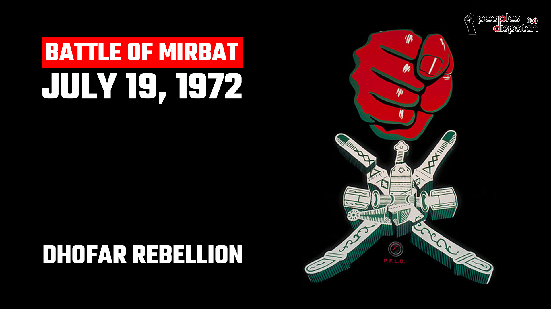 Battle of Mirbat 1972