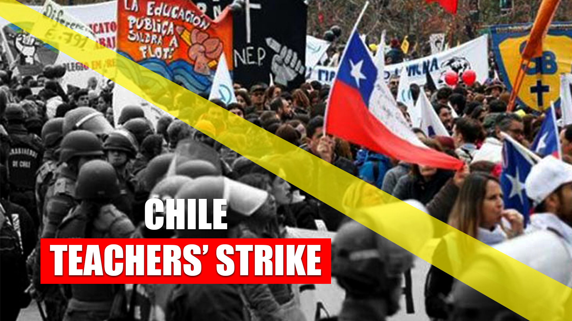Chile teachers' strike