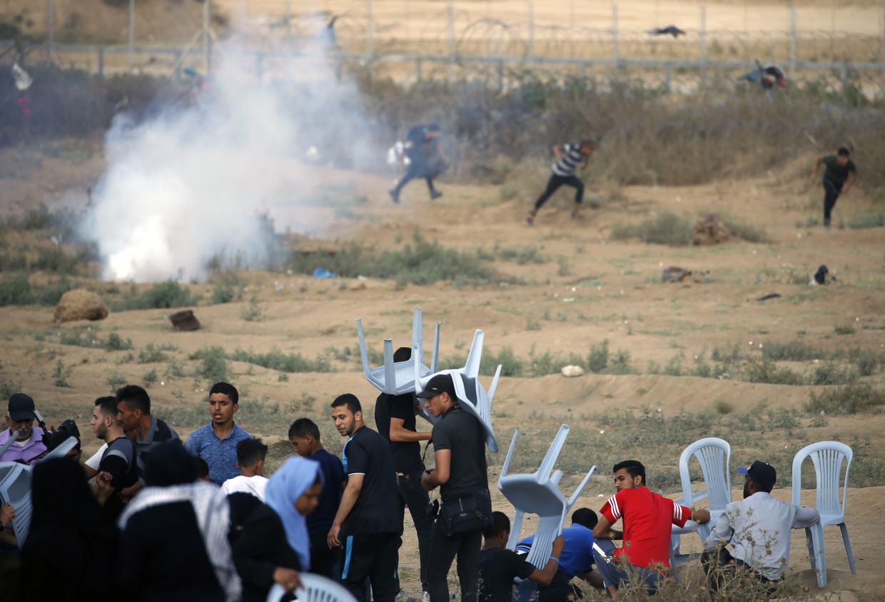 Palestinians' Great March of Return protests